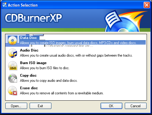 Download CDBurnerXP (64-bit) 2017 Latest Version