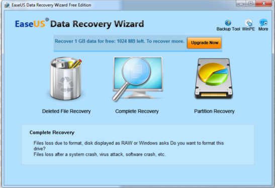 Download EaseUS Data Recovery Wizard 2017 Free