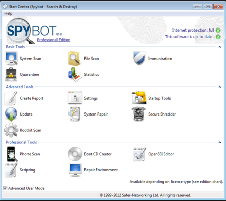 Download Spybot Search 2017 Latest Version