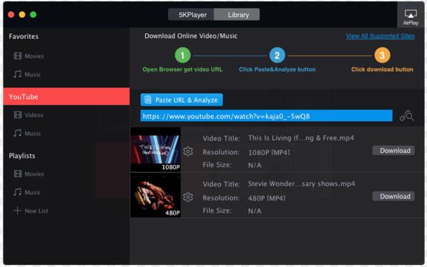 Download 5KPlayer Latest Version