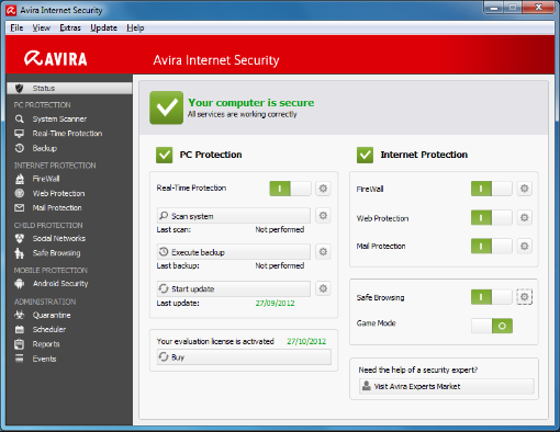 Download Avira Internet Security Suite 2018.15.0 Latest Version