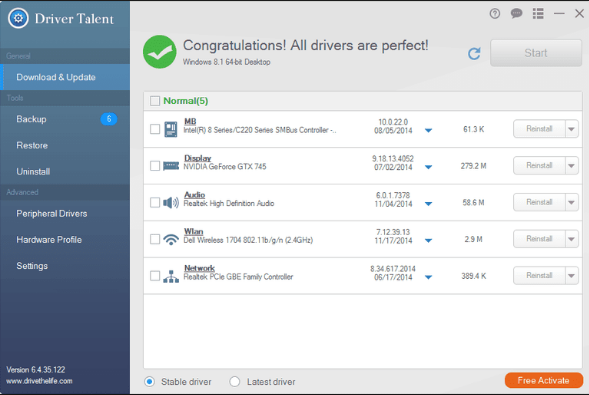 Download Driver Talent 2018 Latest Version