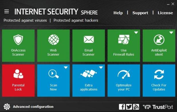 Download TrustPort Internet Security 2018