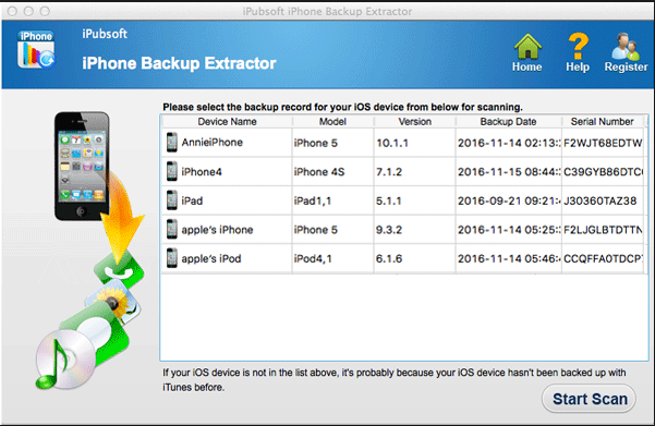 Download iPhone Backup Extractor 2018.7.5.10 Latest
