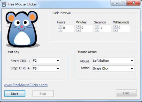 Auto Mouse Click 61.1 Download Latest Version