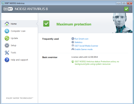 NOD32 AntiVirus 2018 Free Download Latest Version