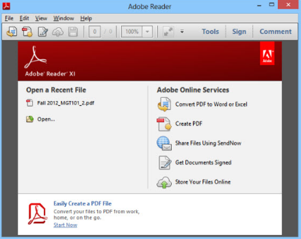 Adobe Reader 2019 free Download Latest Version