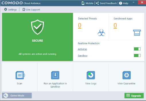 Download Comodo Cloud Antivirus 2019 Latest Version