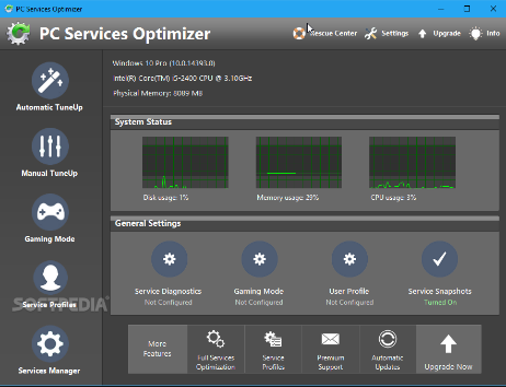 PC Services Optimizer 3.2 Download Latest Version