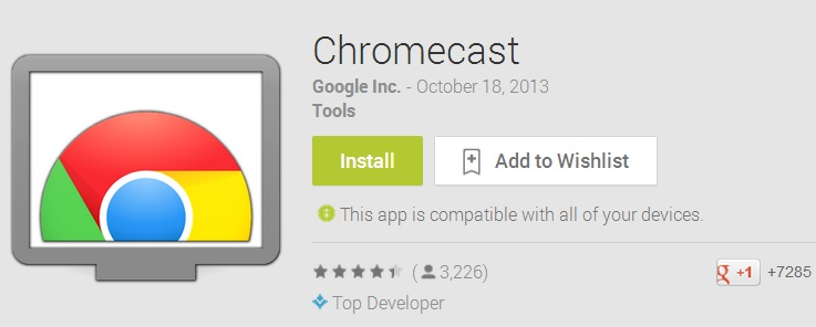 Chromecast App Download Latest Version