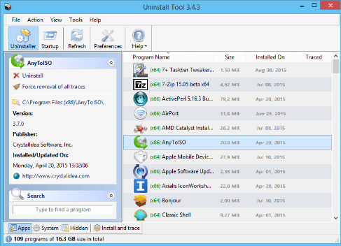 Uninstall Tool 3.5.7 Free Download Latest Version