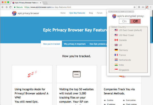 Epic Privacy Browser 71.0